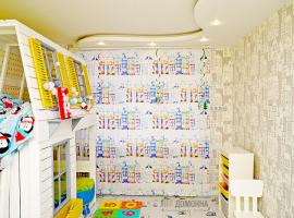 Вертикальные тканевые жалюзи с фотопечатью в детской комнате