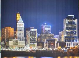 """Вертикальные тканевые жалюзи с фотопечатью """"Ночной город&am"""
