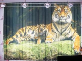 """вертикальные фотожалюзи """"Тигр"""""""