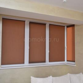 рулонные шторы мини ткань Респект