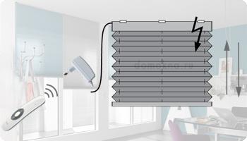Комплект автоматики AMIGO (АМИГО) для штор плиссе