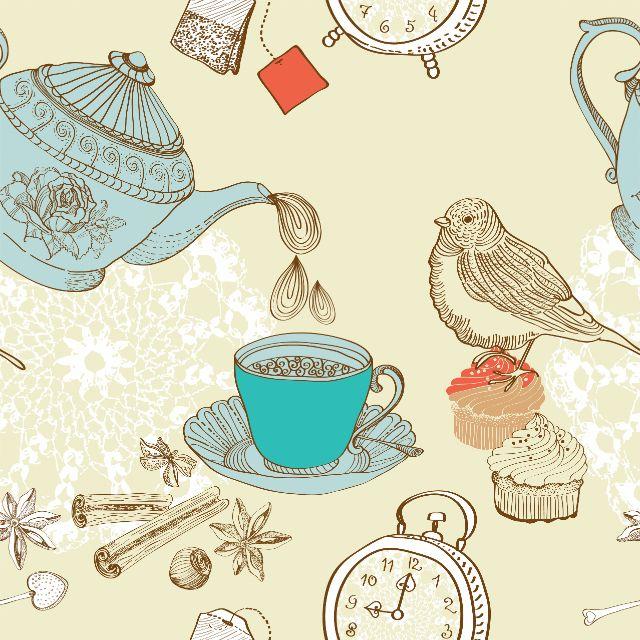 Фотожалюзи рулонные | Фон - утренний чай