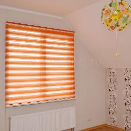 Рулонные шторы день ночь   В спальне рулонные шторы день ночь