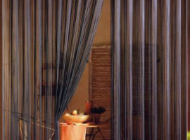 Веревочные шторы Бриз