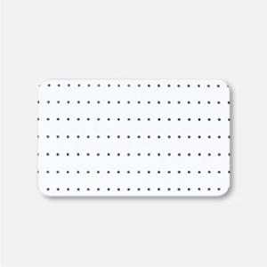 Алюминиевые горизонтальные жалюзи - С перфорацией 25мм №0225 П