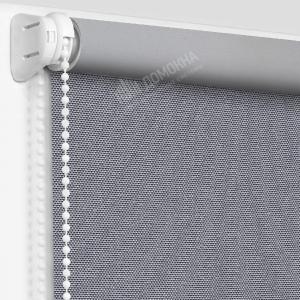 Рулонные шторы МИНИ - Альфа Алю блэкаут серый