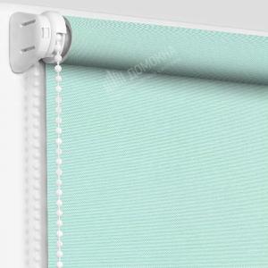 Рулонная штора альфа бирюзовая