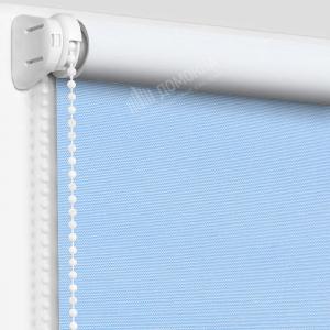 Рулонная штора альфа блэкаут голубой