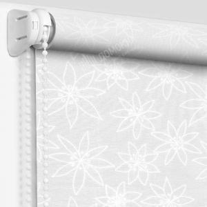 Рулонная штора альмерия белая