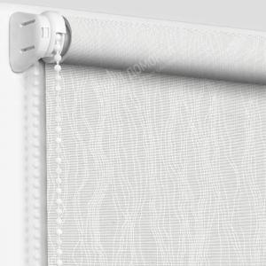 Рулонные шторы с рисунком ариадна белая