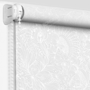 Рулонная штора авенсис белый