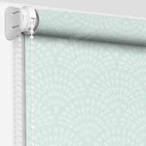 Рулонная штора ажур мята