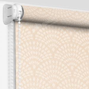 Рулонные шторы МИНИ - Ажур персиковый