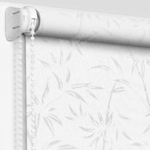 Рулонные шторы с рисунком бамбук магнолия