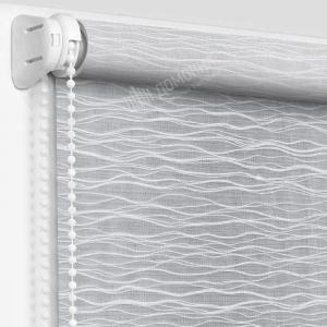 Рулонные шторы с рисунком бланш белый