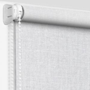 Рулонные шторы с рисунком вуаль белая