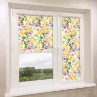 Рулонные шторы UNI (УНИ) - Экзотические цветы