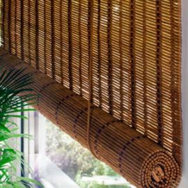 Рулонные шторы бамбуковые