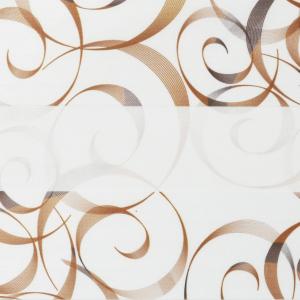 Рулонные шторы ZEBRA-MINI (ЗЕБРА-МИНИ) - Авангард коричневый