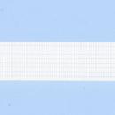 Рулонные шторы ZEBRA-MINI (ЗЕБРА-МИНИ) - Стандарт голубой