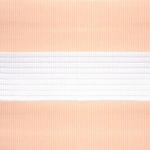 Рулонные шторы ZEBRA-UNI (ЗЕБРА-УНИ) - Стандарт персик