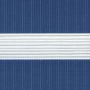 Рулонные шторы ZEBRA-MINI (ЗЕБРА-МИНИ) - Стандарт синий
