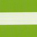 Рулонные шторы ZEBRA-UNI (ЗЕБРА-УНИ) - Стандарт светло-зеленый