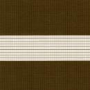 Рулонные шторы ZEBRA-MINI (ЗЕБРА-МИНИ) - Стандарт коричневый