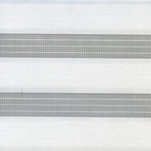 Рулонные шторы ZEBRA - АДАЖИО 0225 белый