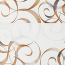 Рулонные шторы ZEBRA - АВАНГАРД 3499 коричневый