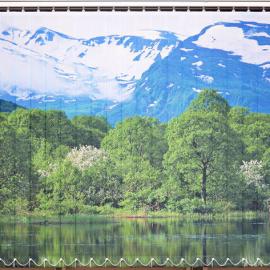 вертикальные жалюзи с фотопечатью Горный пейзаж