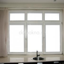 Кассетные шторы на кухне.
