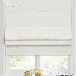 Римские шторы белые