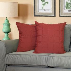 Подушка красная