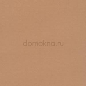 Закрытые рулонные шторы альфа блэкаут светло-коричневая
