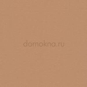 Рулонные шторы УНИ - Альфа блэкаут светло-коричневая