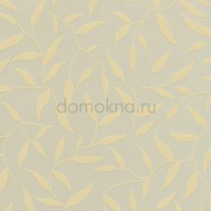 Закрытые рулонные шторы калифорния блэкаут желтая