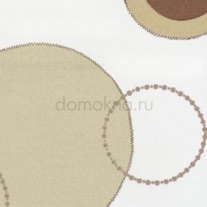 Кассетные рулонные шторы рондо коричневый