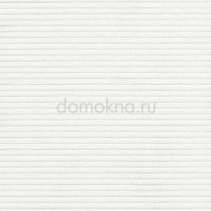 Рулонные шторы с электроприводом сиеста белая