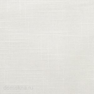 Рулонные шторы с электроприводом шантунг белый