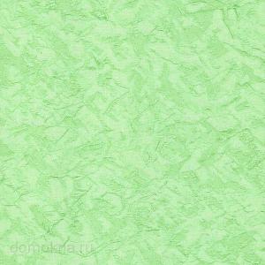 Кассетные рулонные шторы шёлк светло-зеленый
