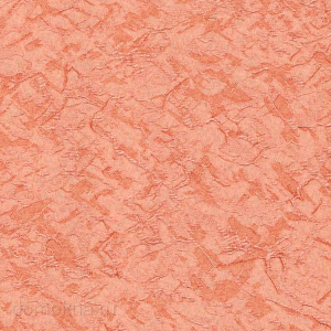 Пружинные шторы шёлк терракотовый
