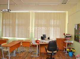 Вертикальные жалюзи в офис