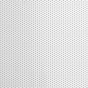 Вертикальные алюминиевые жалюзи - Перфорация белый глянец