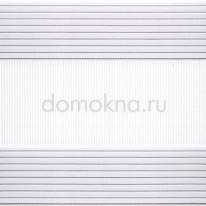 Рулонные шторы ZEBRA-UNI (ЗЕБРА-УНИ) - Стандарт белый