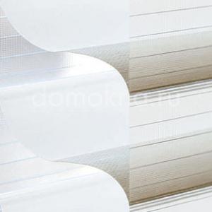Закрытые рулонные шторы мираж - дуэтто 2406