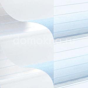 Закрытые рулонные шторы мираж - дуэтто 5150