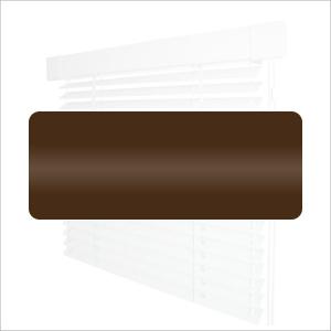 Кассетные горизонтальные жалюзи -  Однотонные 25мм №2871